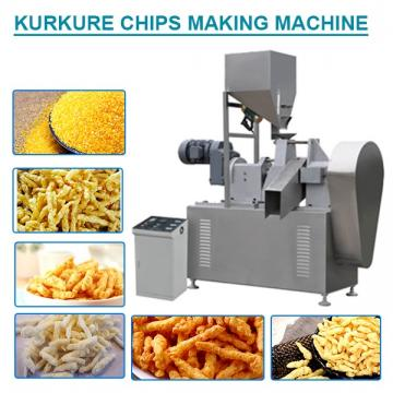 220v/ 440v Stainless Steel Kurkure Extruder Machine Energy Saving