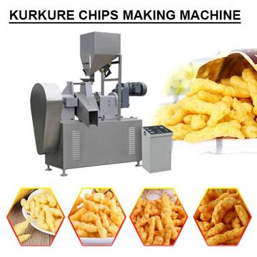 PLC System High Productivity Kurkure Chips Making Machine,Easy Installed