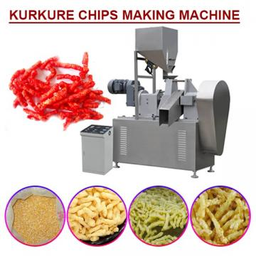 High Capacity Energy Saving  Kurkure Chips Making Machine For Snack Food