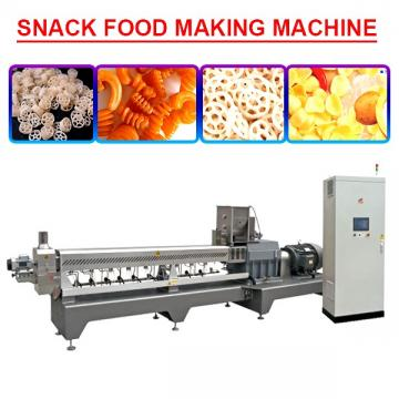 High Quality Twin Screw Extruded Snack Food Making Machine,Low Cost