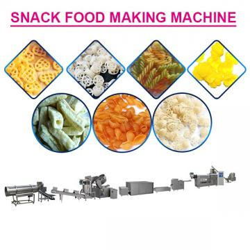 Full Automatic Stainless Steel Snack Food Making Machine With Cereals As Raw Materials,High Output