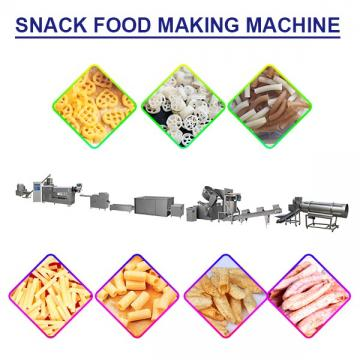 Multifunction Snack Food Making Machine For Puffed Snack Pellets Food,High Capacity Low Cost