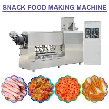 100-300kg/H High Capacity Snack Food Making Machine,Automatic Snacks Making Machine