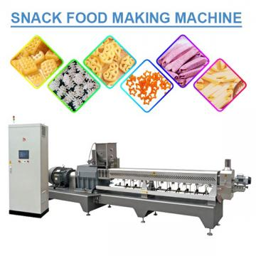 CE Certification Eco-friendly Snack Food Making Machine With Grains As Raw Material