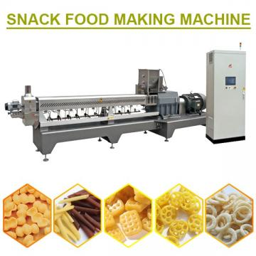 PLC System Snack Food Making Machine For Snack Food,Low Consumption