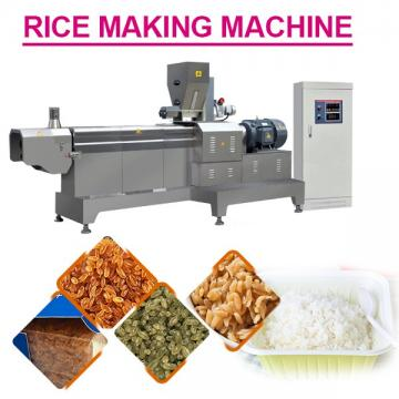 Automatic Line 110kw Rice Making Machine With Rice Raw Materials