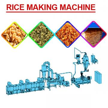 Fully Automatic 380V/50Hz Artificial Rice Production Line For Nutritional Rice