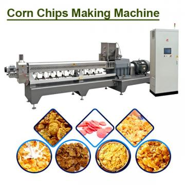 Easy Operation Corn Flakes Extruding Line,350kg/h Production Capacity