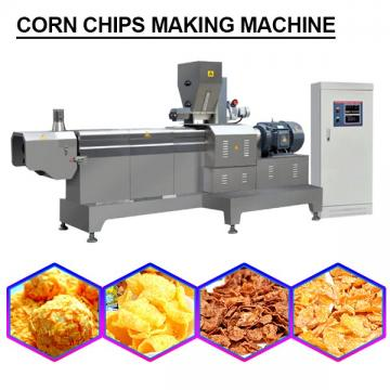 High Capacity Corn Flakes Making Machine With Plc Control System