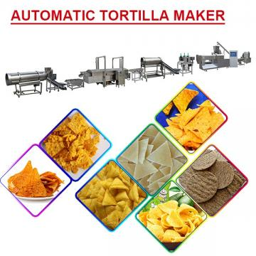 Automatic Eco-Friendly Automatic Tortilla Maker With Corn Flour As Raw Material,Long Lifetime
