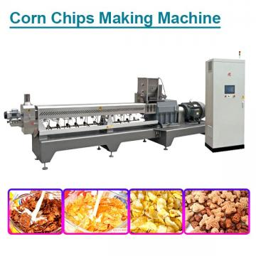 Multifunction 70-100kw corn chips making machine with corn starch Raw Materials