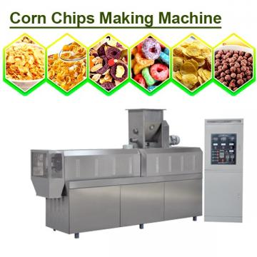High Efficiency Automatic corn chips making machine for extruded snack,Long Lifetime