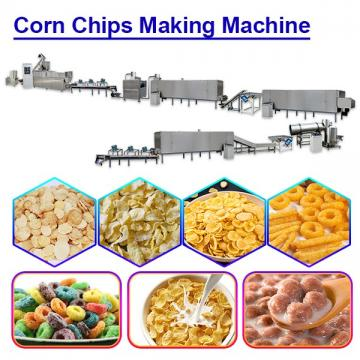 High automation 81.5kw-181kw corn chips making machine with Safety in use