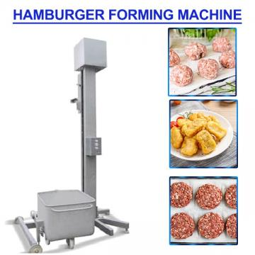 High Efficiency Automatic Hamburger Forming Machine With Meat Raw Materials,Safety In Use
