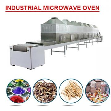 380V continuous industrial microwave oven with 60kg/h capacity