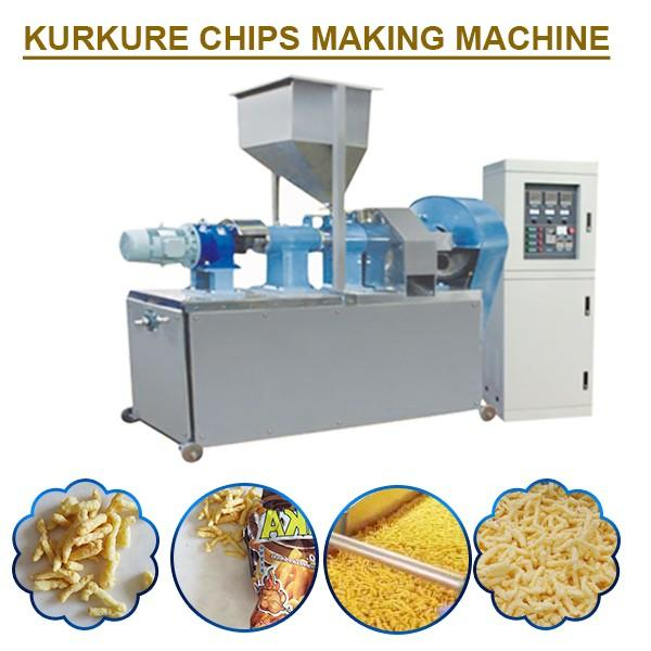 High Efficiency Easy Operation Kurkure Chips Making Machine For Snacks And Chips #1 image