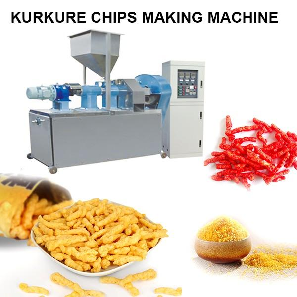 CE Certification Stainless Steel Food Grade Kurkure Chips Making Machine With Long Lifetime #1 image