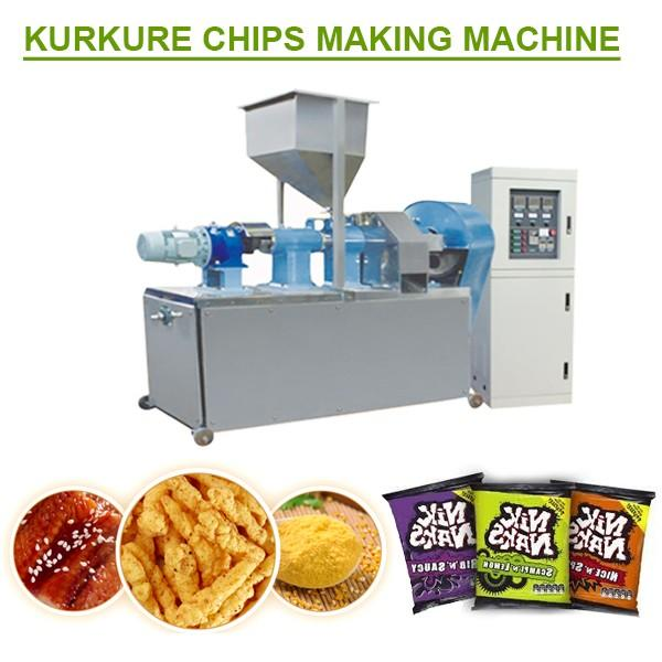 380v/50hz Smart Control Kurkure Chips Making Machine With Corn Starch As Raw Material #1 image