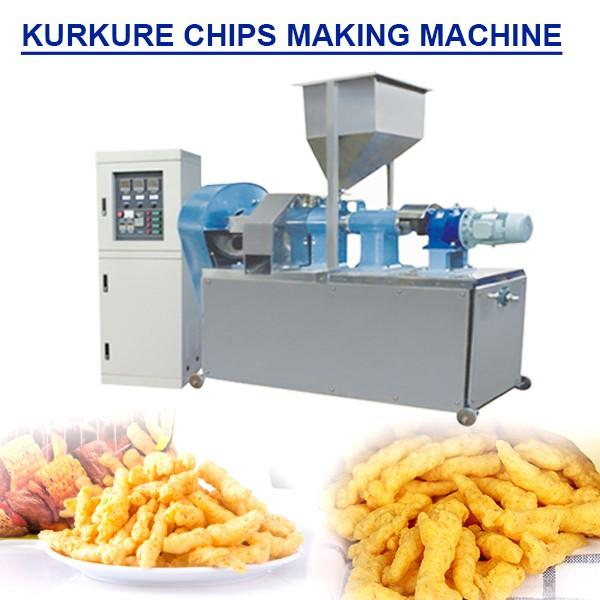 Automated Systems Kurkure Chips Making Machine With Low Cost High Output #1 image