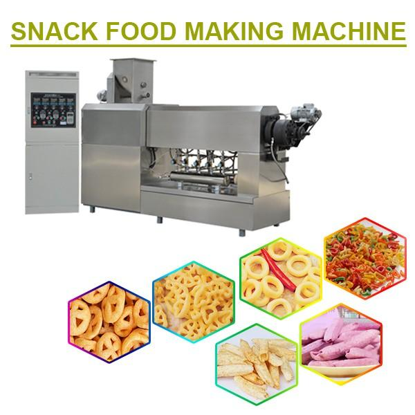 PLC System Snack Food Making Machine With High Efficiency,Low Consumption #1 image