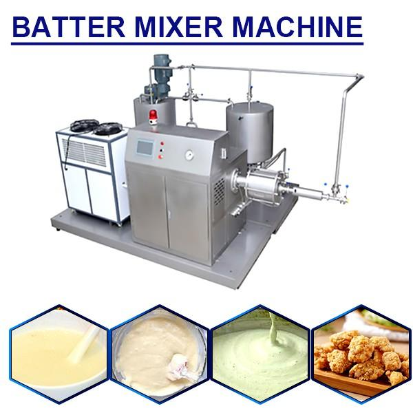 Full Automatic Stainless Steel Food Grade Batter Mixer Machine,No Pollution #1 image