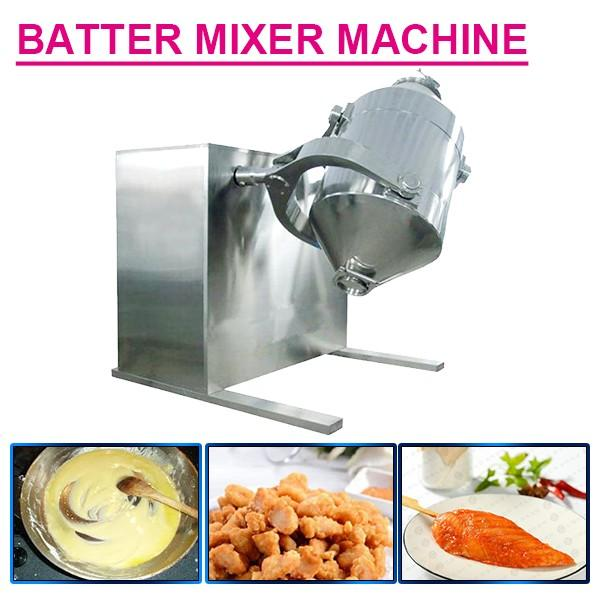 Plc System Automatic Eco-Friendly Batter Mixer Machine,Self Cleaning #1 image