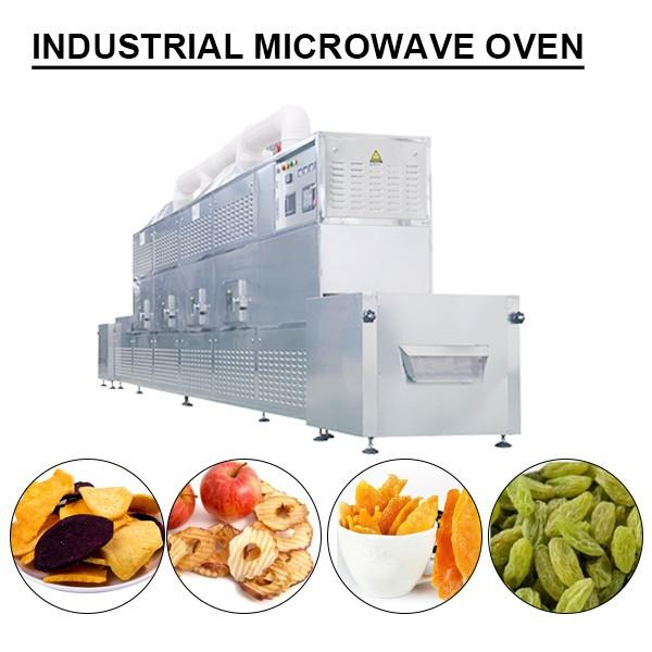 10-200kw PLC control industrial microwave oven for drying farm products #1 image