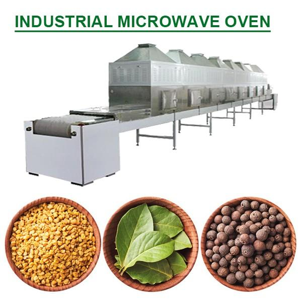 Energy saving tunnel structure industrial microwave oven with High Productivity #1 image