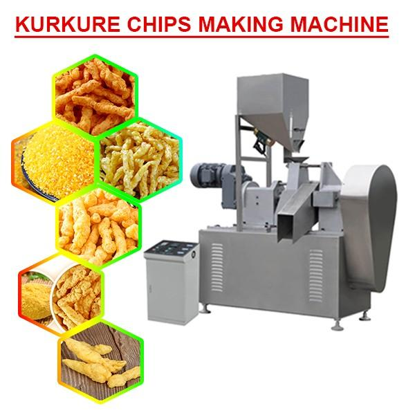 High Quality Self Cleaning Kurkure Chips Making Machine,Easy-Operation #1 image